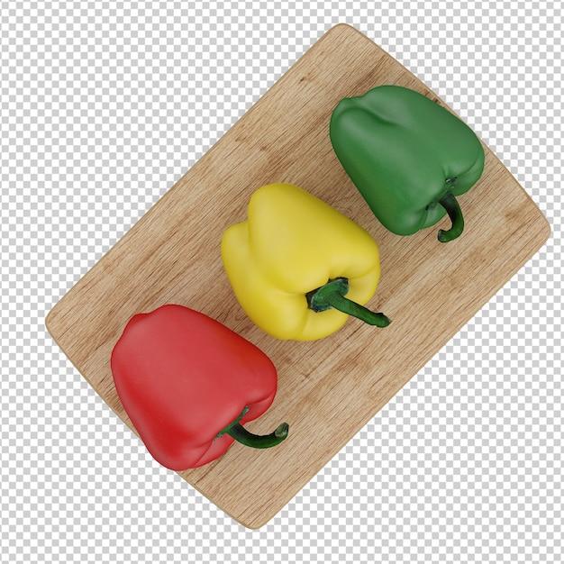 等尺性野菜 Premium Psd