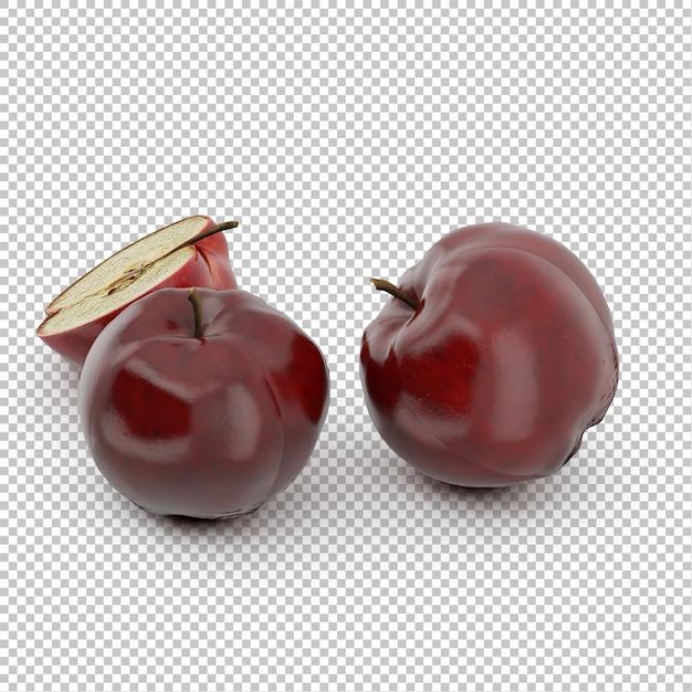 等尺性リンゴ Premium Psd