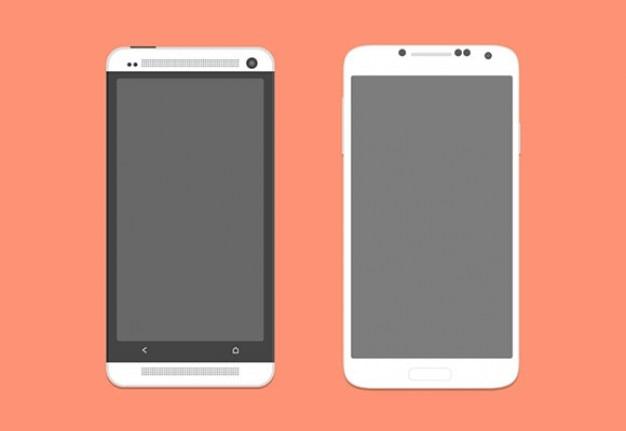 Умный телефон макеты сдп Бесплатные Psd
