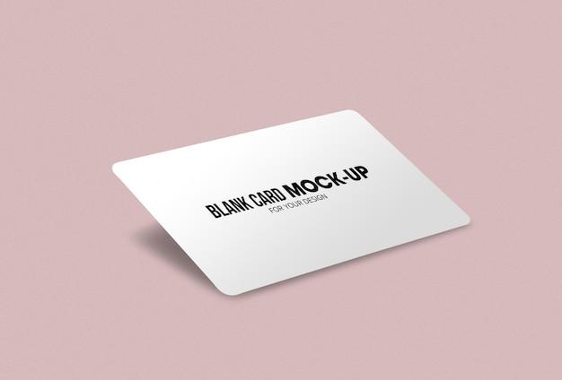 Макет визитной карточки или визитной карточки Premium Psd