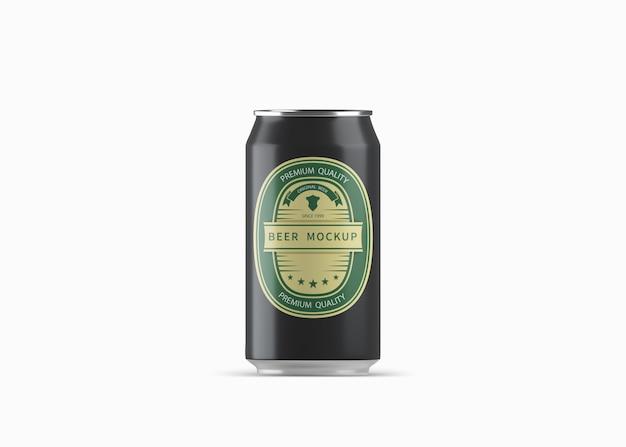 ビールはモックアップできます Premium Psd