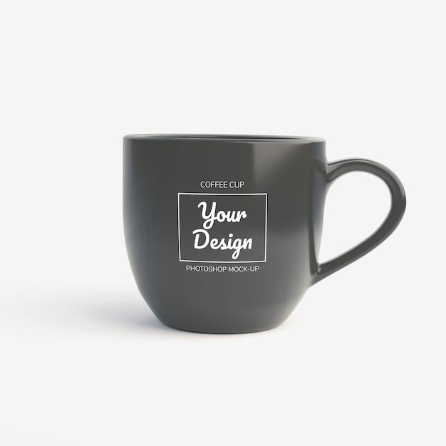 Макет кружка кофе Premium Psd