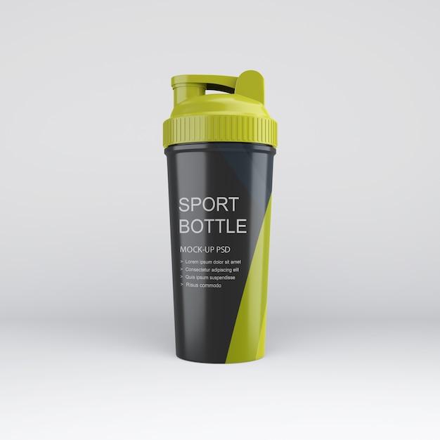 スポーツボトルモックアップ Premium Psd