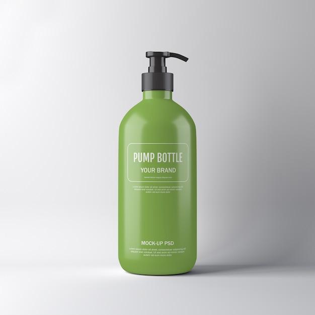 ポンプボトルモックアップ Premium Psd
