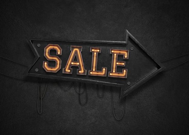 セールライトサイン Premium Psd