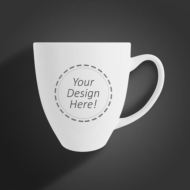 ブランディングのための編集可能なモックアップデザインテンプレートカフェマグカップのショーケース Premium Psd
