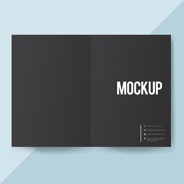 Макет шаблона брошюры Бесплатные Psd