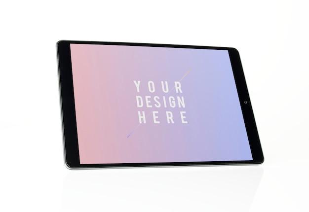 フルスクリーンタブレットモックアップデザイン 無料 Psd
