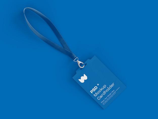 Макет удостоверения личности Premium Psd