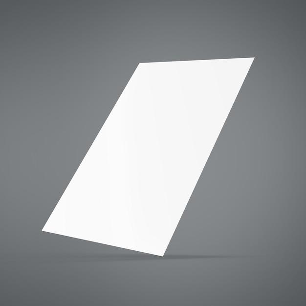 紙モックアップ Premium Psd