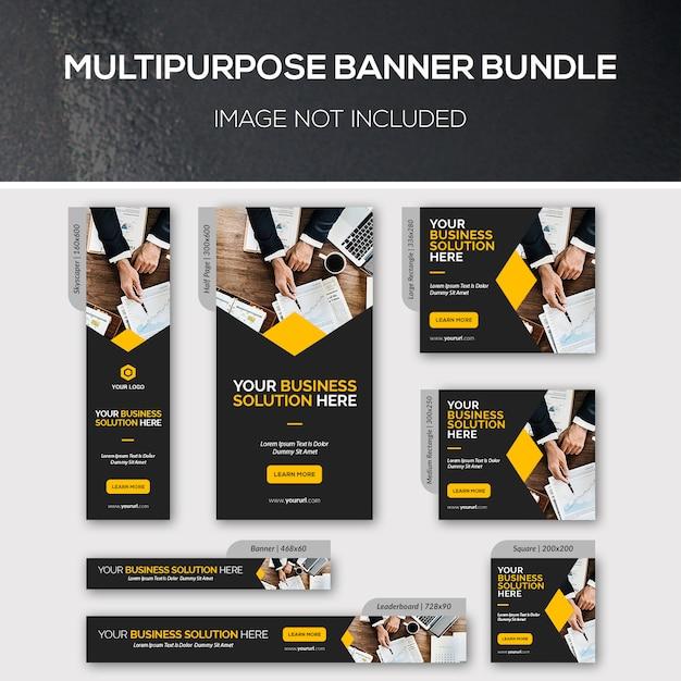 Многофункциональный набор баннеров Premium Psd