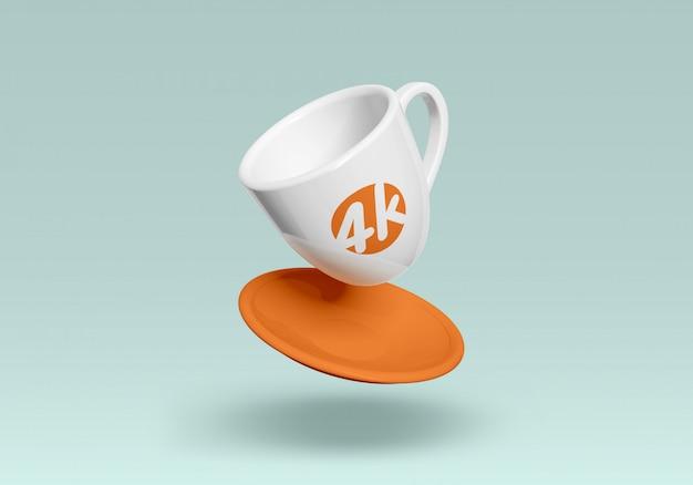 コーヒーマグモックアップ Premium Psd
