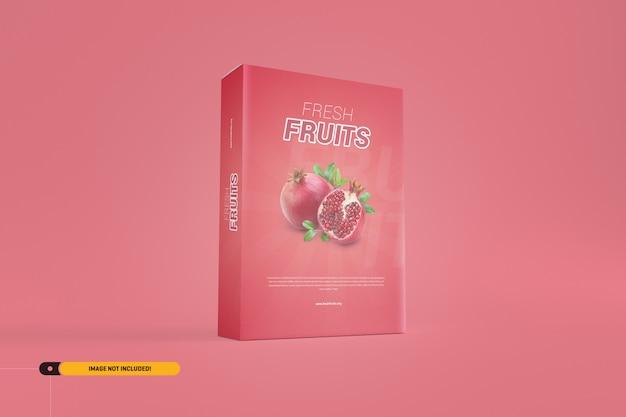 ソフトウェア/製品ボックスモックアップ Premium Psd