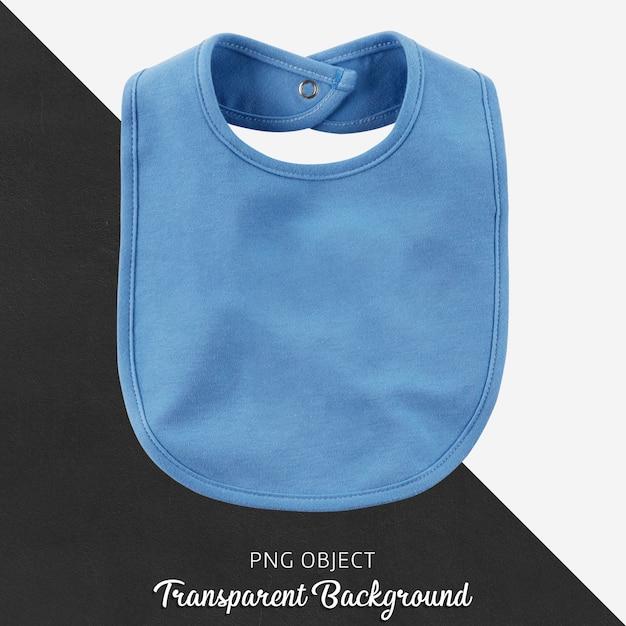 赤ちゃんや子供のための透明な青いよだれかけ Premium Psd
