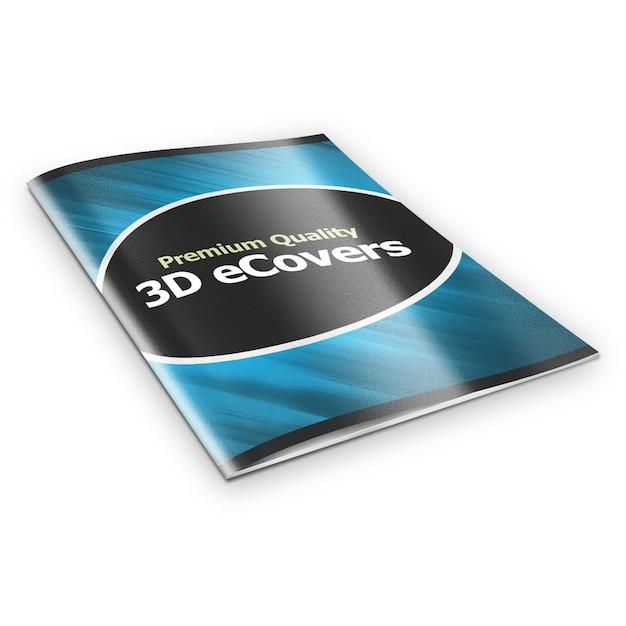 Макет обложки журнала Premium Psd