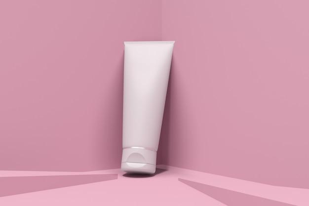 化粧品包装モックアップスキンケア Premium Psd