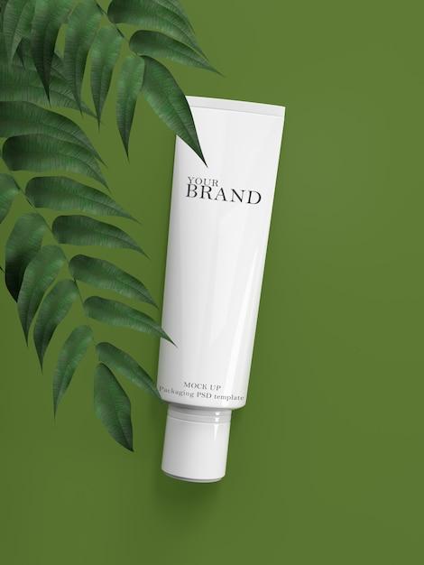 化粧品プレミアムスキンケア保湿。 Premium Psd