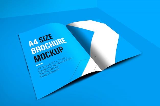 A4 표지 브로셔 이랑 프리미엄 PSD 파일