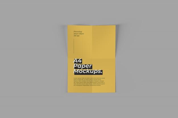 A4 paper mockup Premium Psd