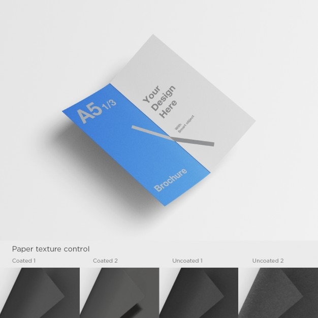 a5 brochure template psd file