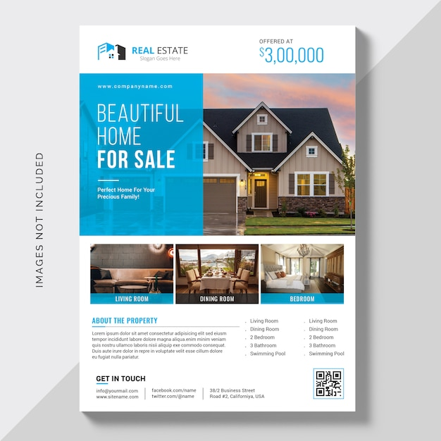 Real Estate Brochure Vectors, Photos and PSD files | Free