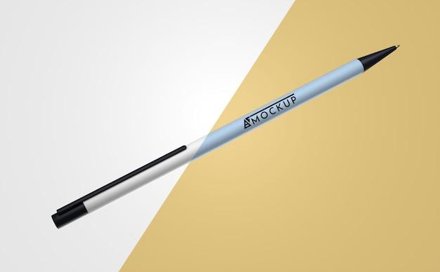 Абстрактный макет товара с одной ручкой Бесплатные Psd