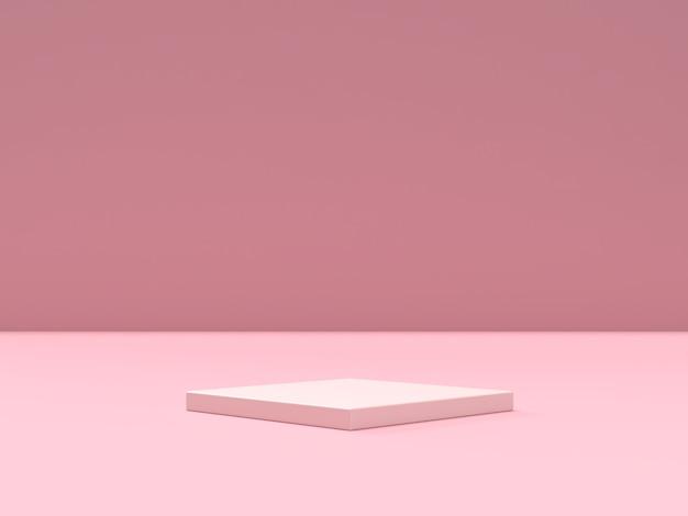 Абстрактный подиум формы геометрии сцены для отображения продукта Premium Psd