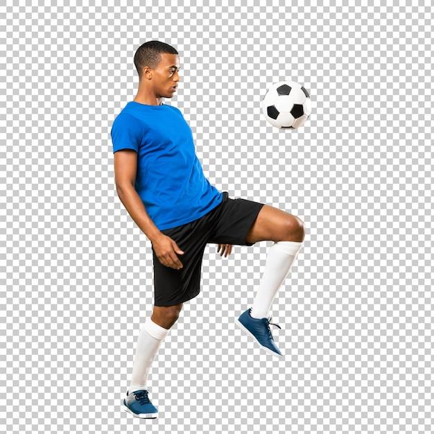 African american football player man Premium Psd