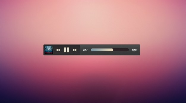 Album art dark micro minimal music player psd file free for Music minimal art