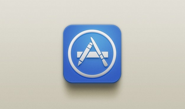 App store app store ios iphone app icon iphone icon Free Psd