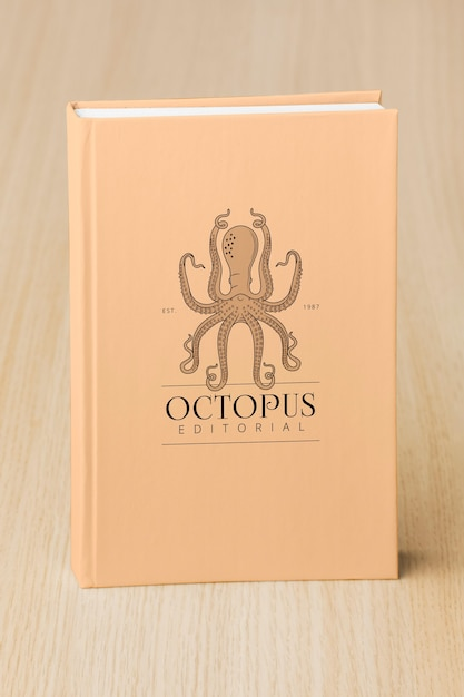 Assortimento con copertina del libro mock-up Psd Gratuite