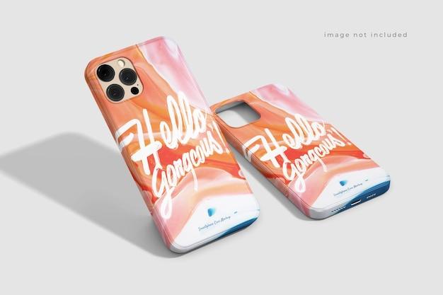Awesome beautiful phone case mockup Free Psd