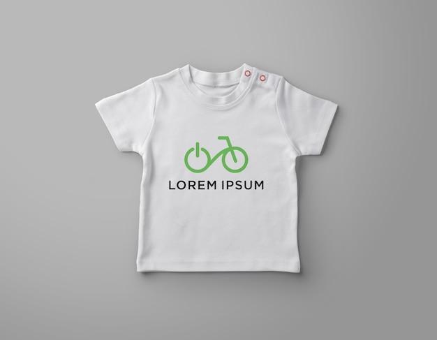 Дизайн мокапа детской футболки Premium Psd