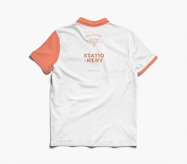 Макет рубашки поло Premium Psd