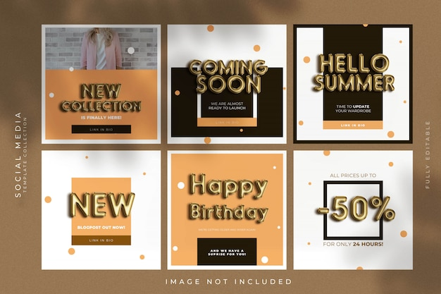 Balloon text effect templates Premium Psd