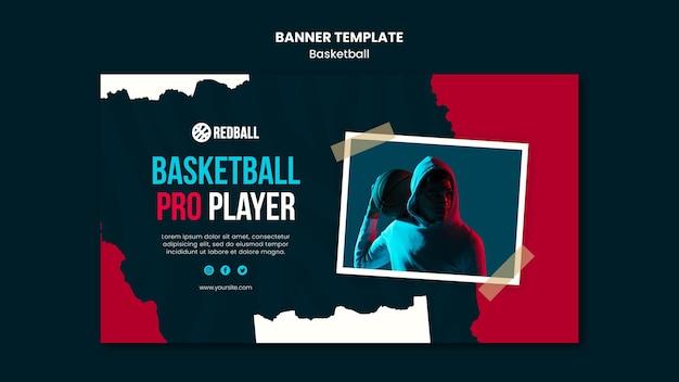 배너 농구 훈련 템플릿 무료 PSD 파일