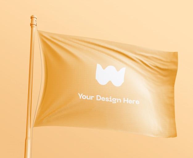 배너 깃발 이랑 무료 PSD 파일