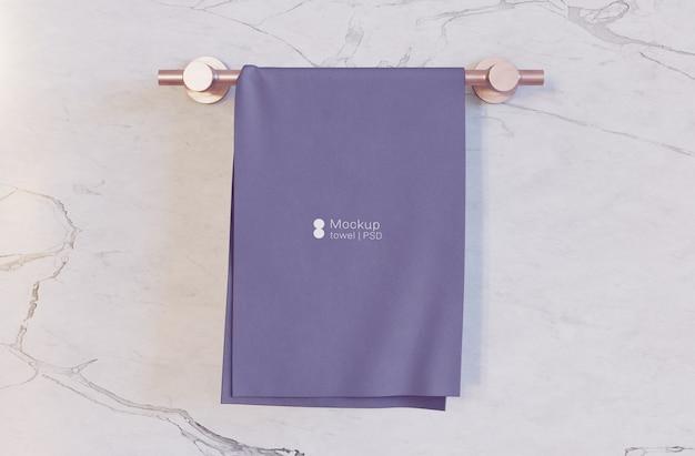 Мокап банного полотенца Premium Psd