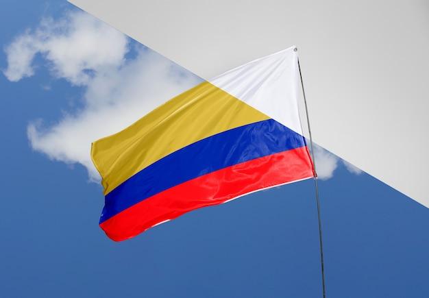 아름 다운 깃발 개념 모형 무료 PSD 파일