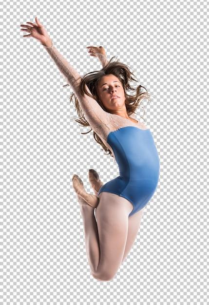 Красивая девушка балерина Premium Psd
