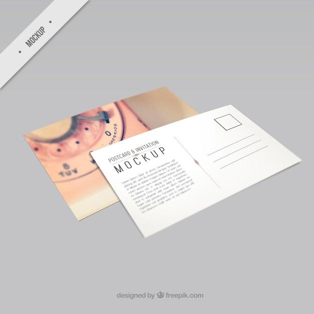 Postcard Mockup Vectors Photos And Psd Files Free Download