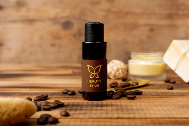 Beauty natural cosmtic product at spa Free Psd
