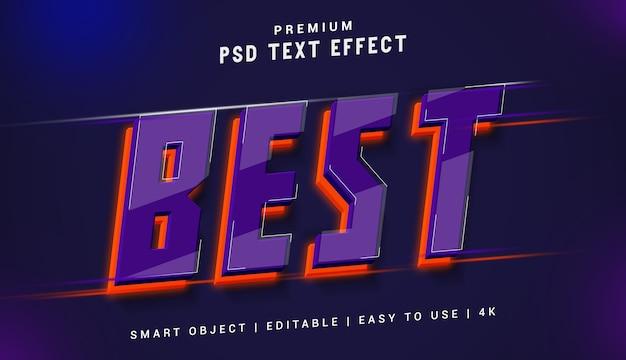 Лучший премиум генератор текстовых эффектов Premium Psd