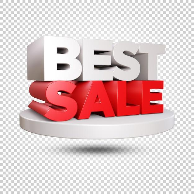 Лучшие продажи 3d визуализации дизайн изолированные Premium Psd