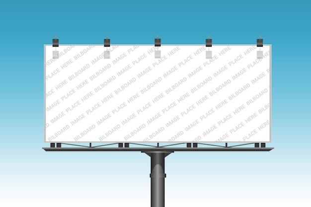 Billboard mockup template Premium Psd