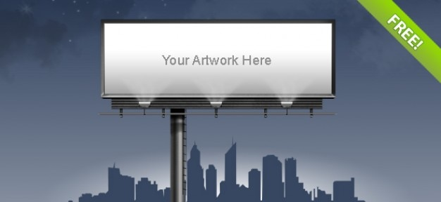 billboard template psd file free download