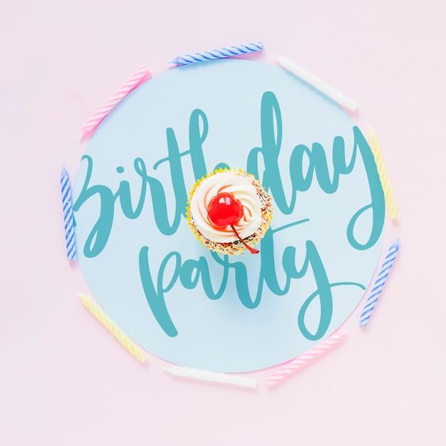 Birthday Card Mockup Psd File Free Download