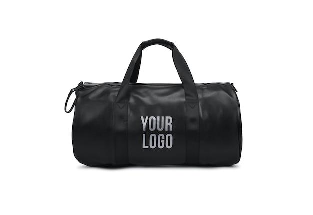 Black Bag Logo Mockup 스포츠 체육관 가방 프리미엄 PSD 파일