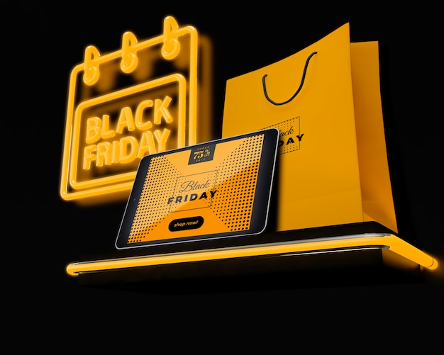 Black Friday With Special Promotions Free Psd File