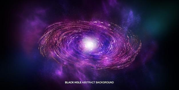 Buco nero sullo sfondo Psd Gratuite